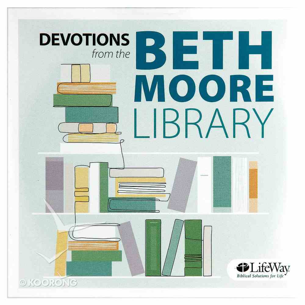 Devotions From the Beth Moore Library #01 (58 Mins) CD