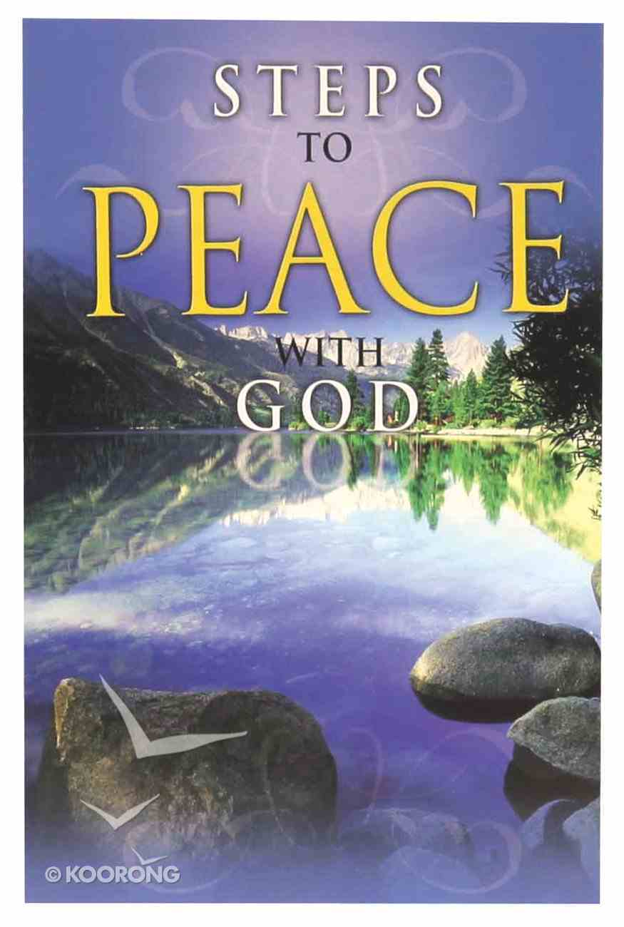 Steps to Peace With God (Pack Of 25) Booklet