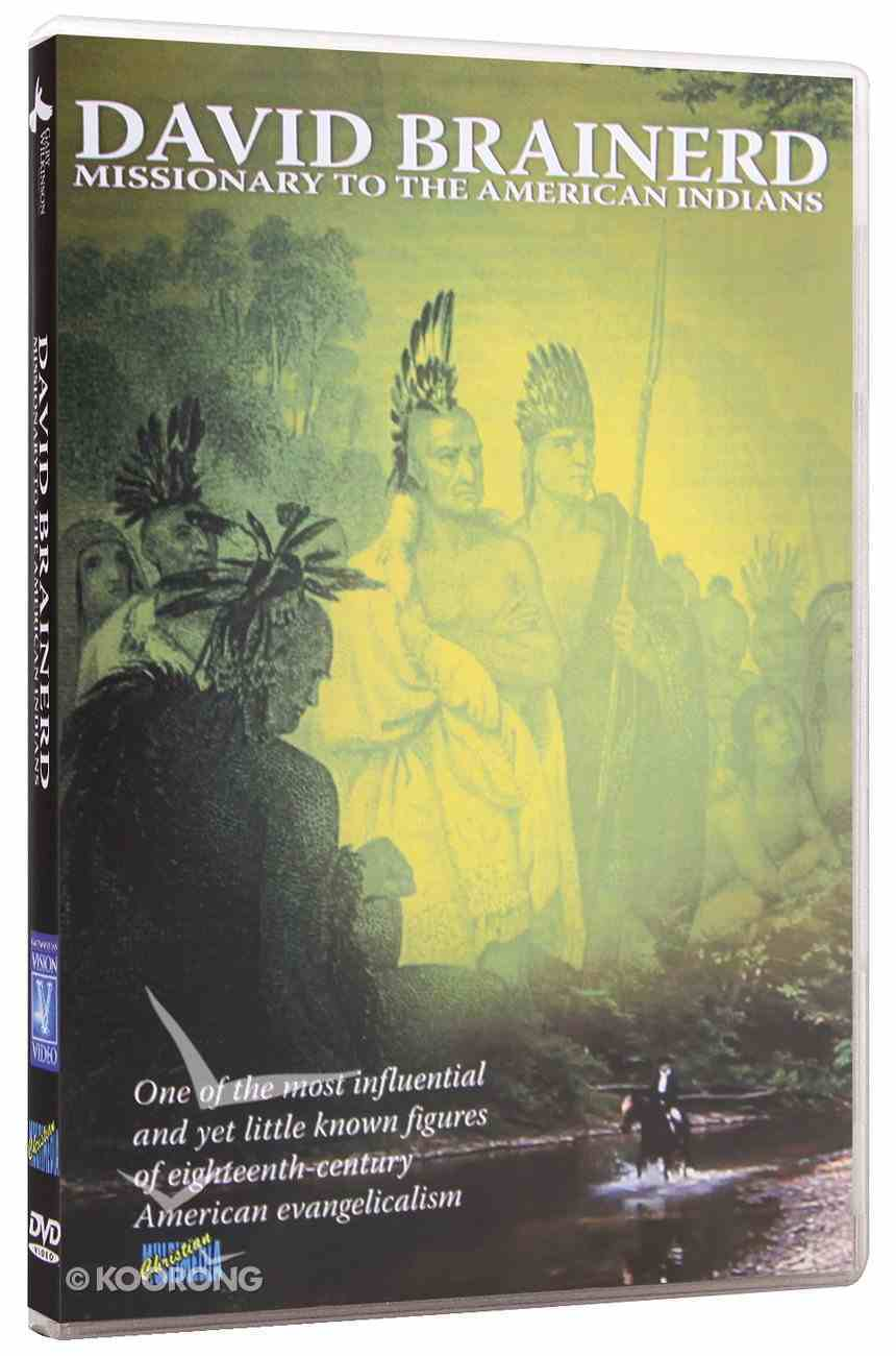 David Brainerd - Missionary to the American Indians DVD