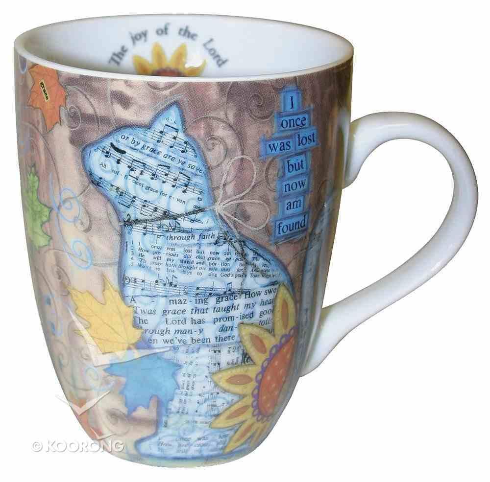 Ceramic Mug With Scripture: Cat Homeware