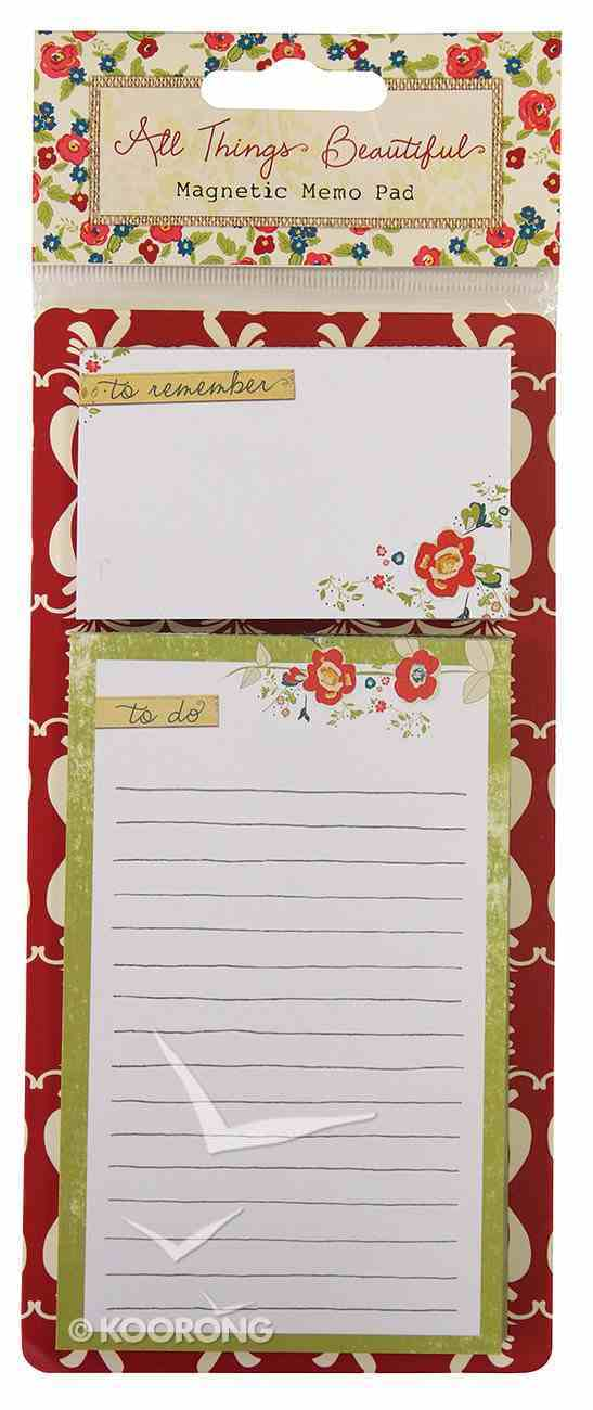 All Things Beautiful: List Pad Stationery