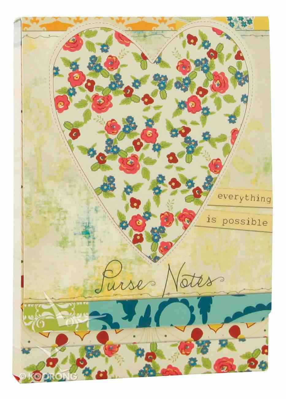 All Things Beautiful: Purse Notes Stickers