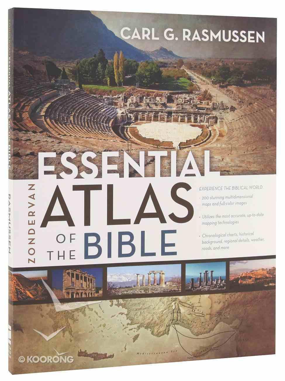 Zondervan Essential Atlas of the Bible Paperback