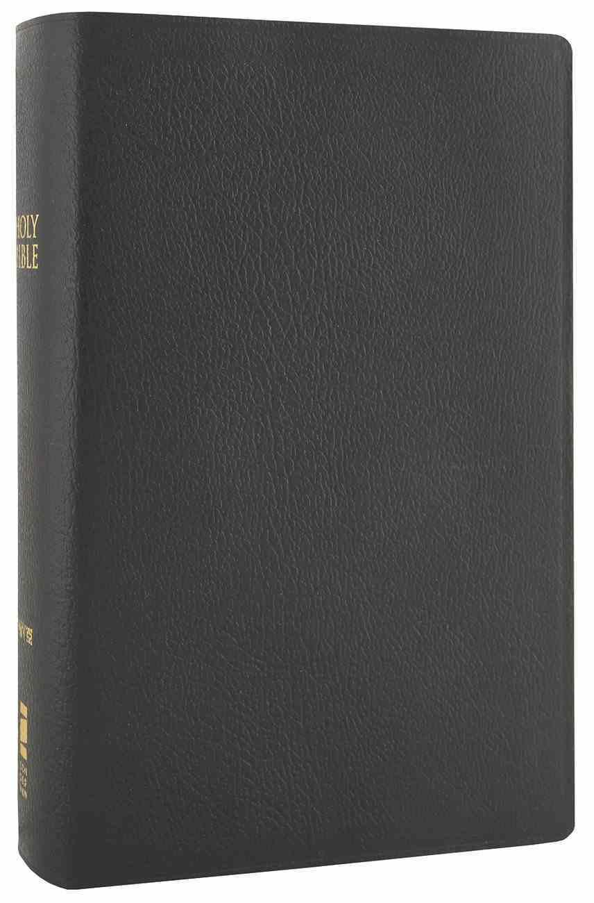 NIV Compact Giant Print Black (Black Letter Edition) Bonded Leather