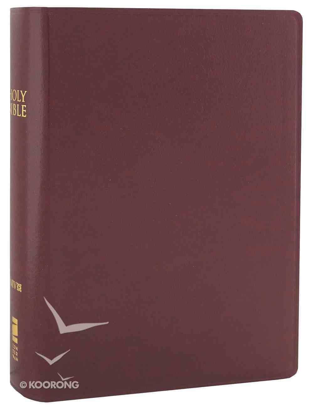 NIV Compact Giant Print Burgundy (Black Letter Edition) Imitation Leather