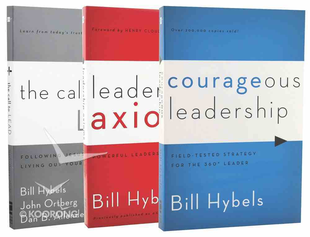 Hybels Leadership 3-Pack (3 Vols) Pack