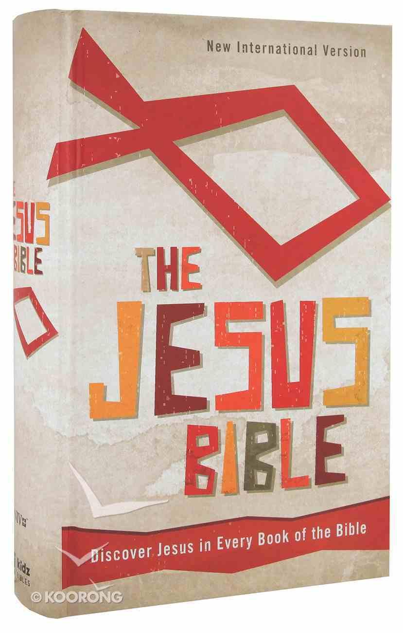 NIV Jesus Bible (Red Letter Edition) Hardback