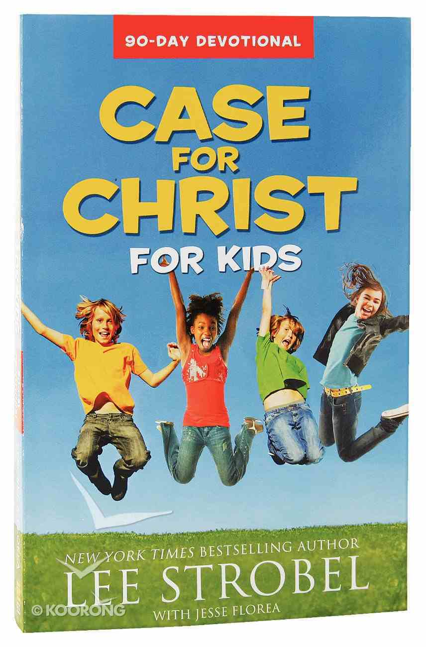 Case For Christ For Kids 90-Day Devotional Paperback