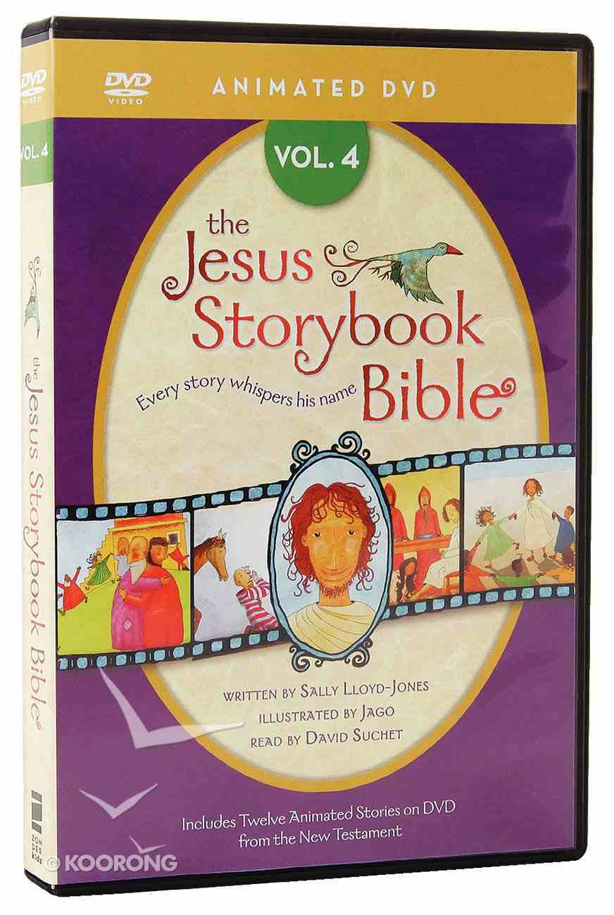 Jesus Storybook Animated Bible Volume 4 DVD