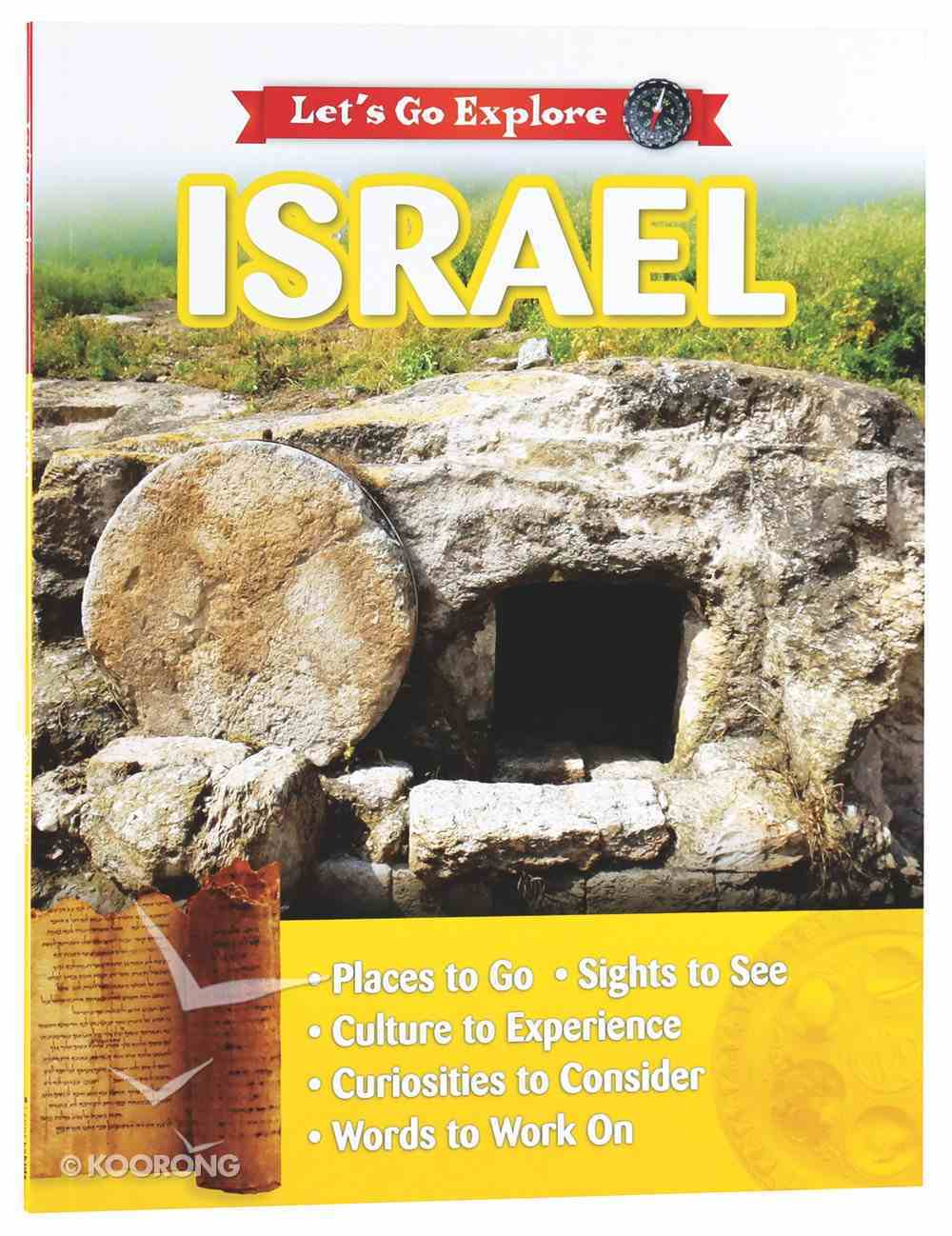 Israel (Let's Go Explore Series) Paperback