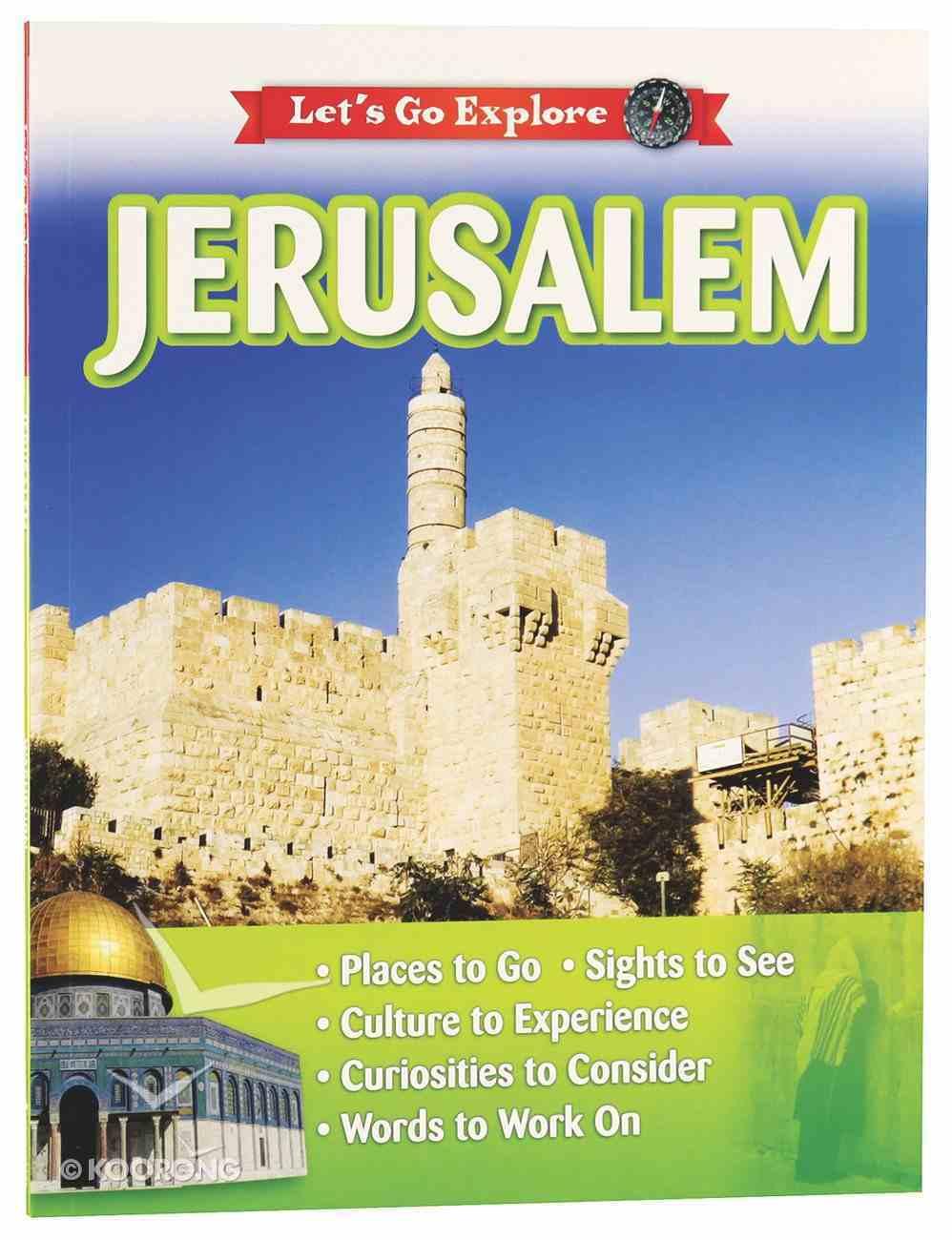 Let's Go Explore: Jerusalem Paperback