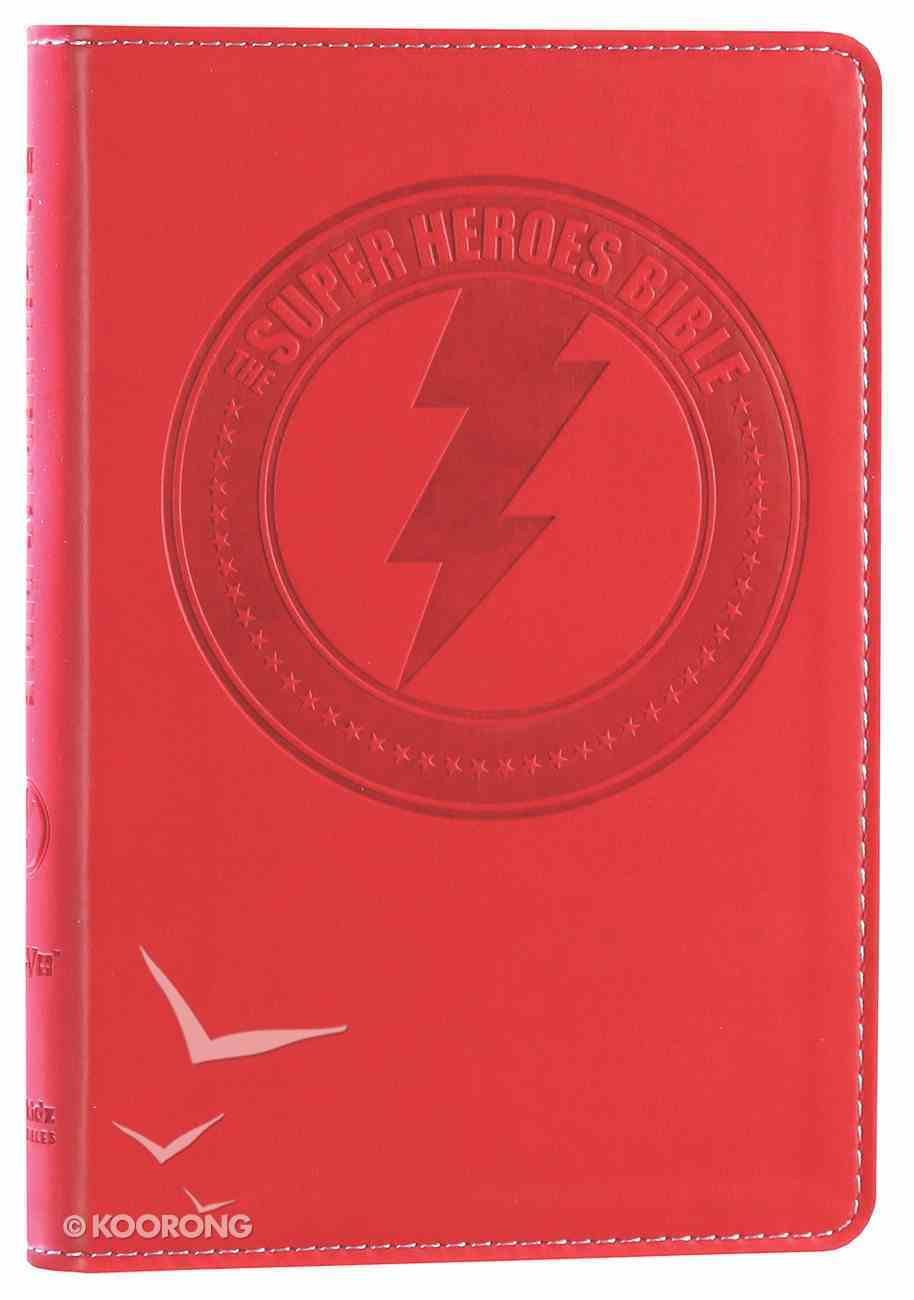 NIRV Super Heroes Backpack Bible Imitation Leather