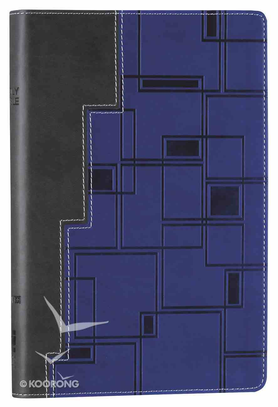 NIV Bible For Teens Blue/Grey (Red Letter Edition) Imitation Leather