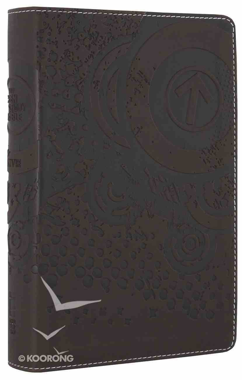 NIV Teen Study Bible Compact Espresso (Black Letter Edition) Premium Imitation Leather