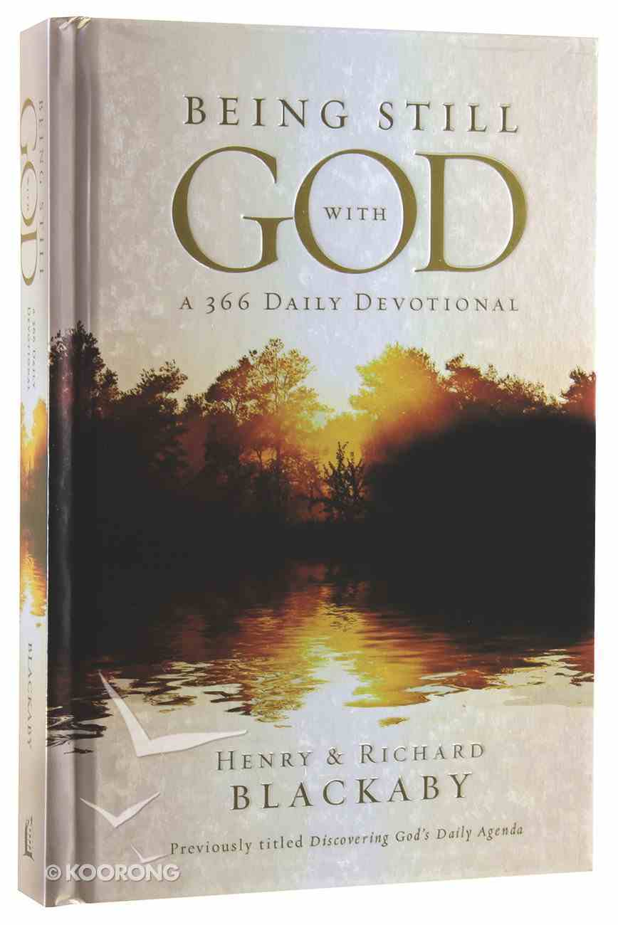 Being Still With God Every Day Hardback