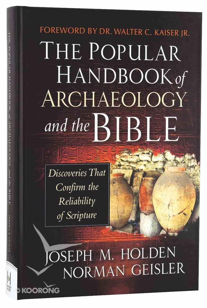 The Popular Handbook of Archaeology and the Bible Hardback