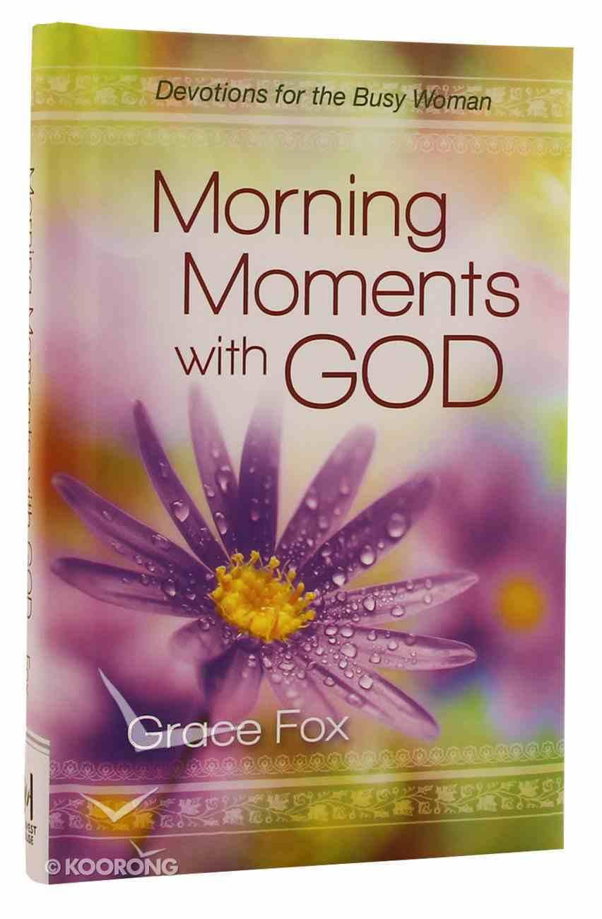 Morning Moments With God Hardback
