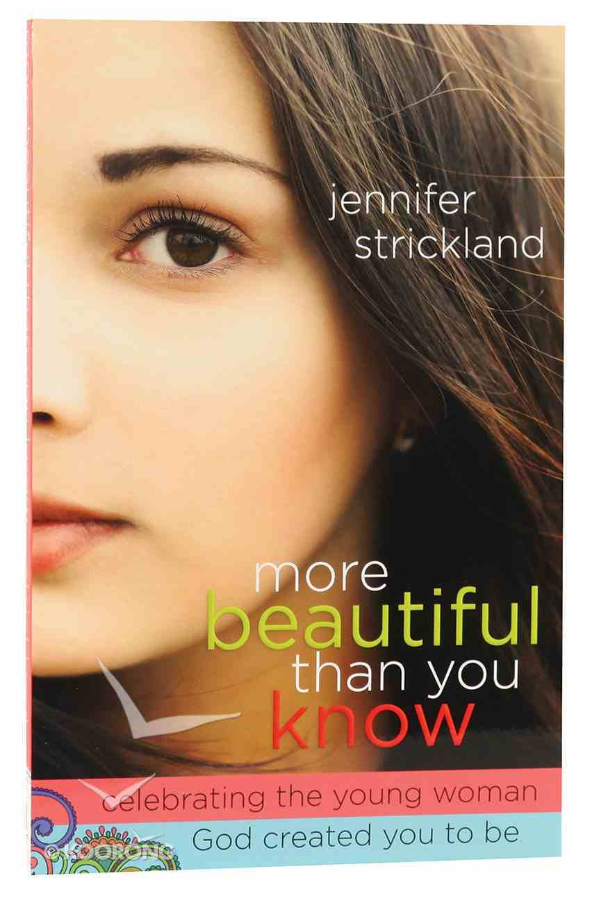 More Beautiful Than You Know Paperback