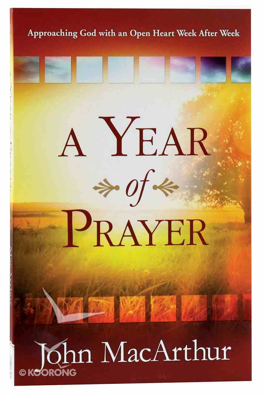 A Year of Prayer Paperback