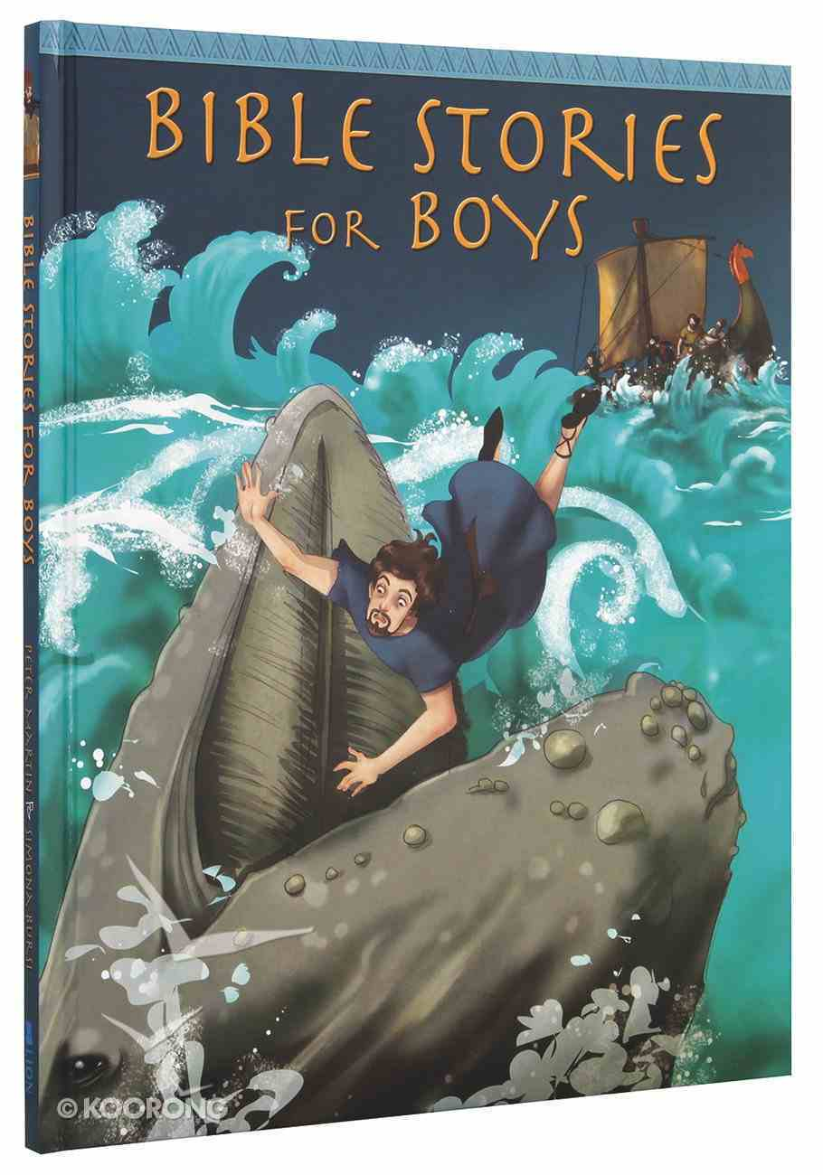 Bible Stories For Boys Hardback