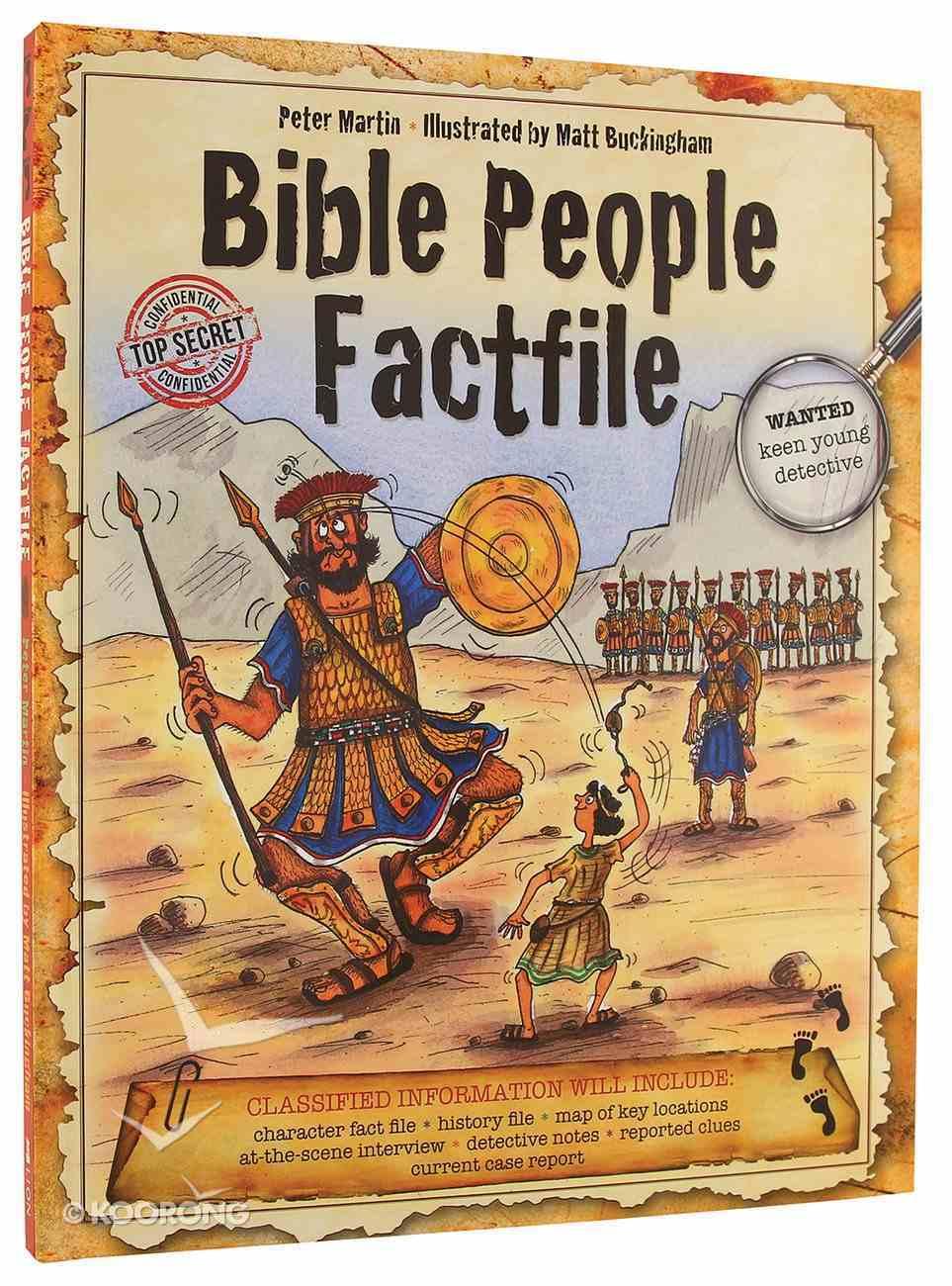 Bible People Fact File Hardback
