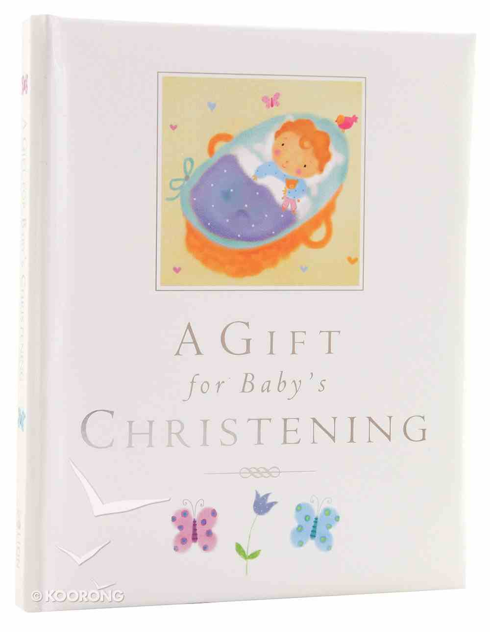 A Gift For Baby's Christening Hardback