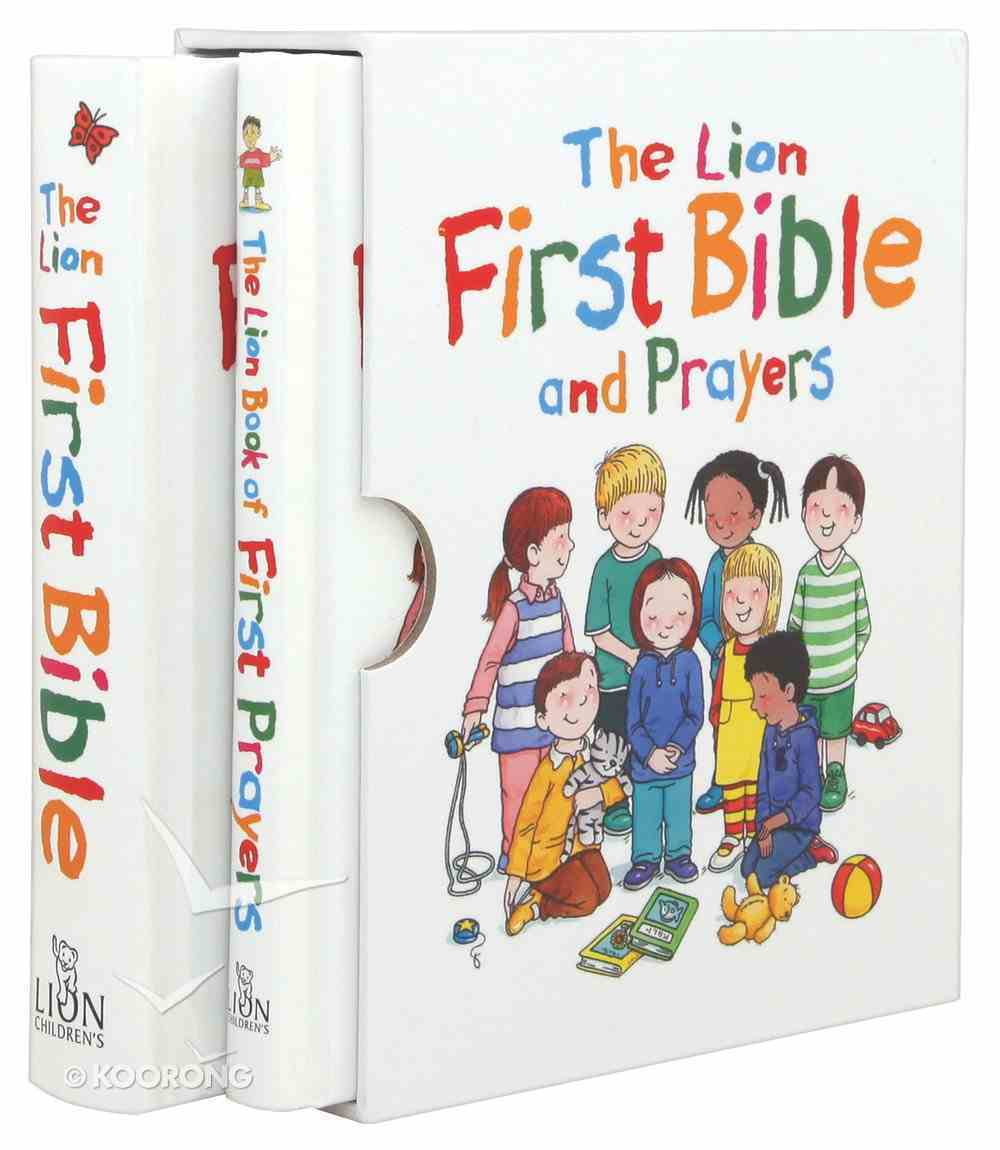 The Lion First Bible and Prayers (Slipcase Set - Mini Editions) Box