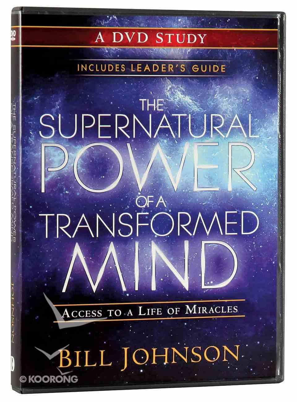 The Supernatural Power of a Transformed Mind (A Dvd Study) DVD