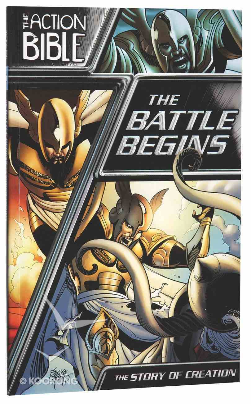 The Action Bible: Battle Begins, the - the Story of Creation Paperback