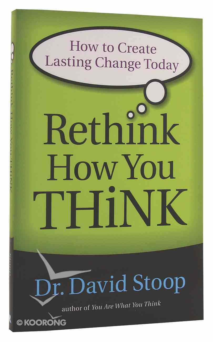 Rethink How You Think Paperback