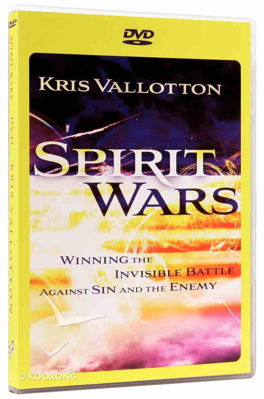 Spirit Wars: Winning the Invisible Battle Against Sin and the Enemy (Dvd) Dvd-rom
