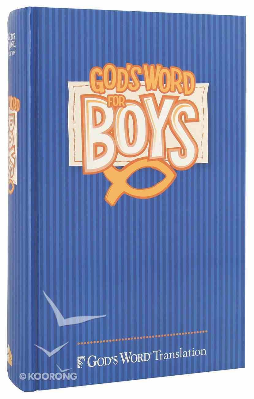 God's Word For Boys Blue Hardback