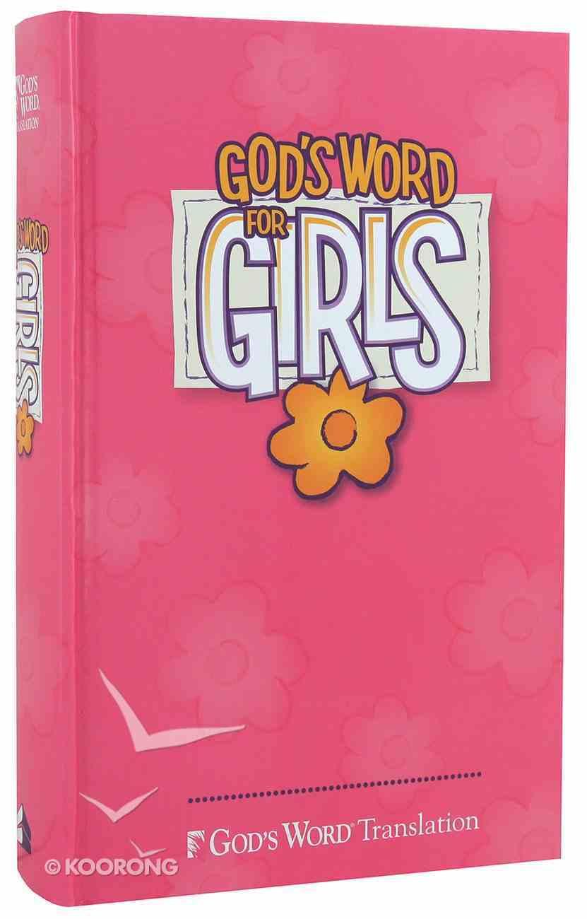 God's Word For Girls Pink Hardback