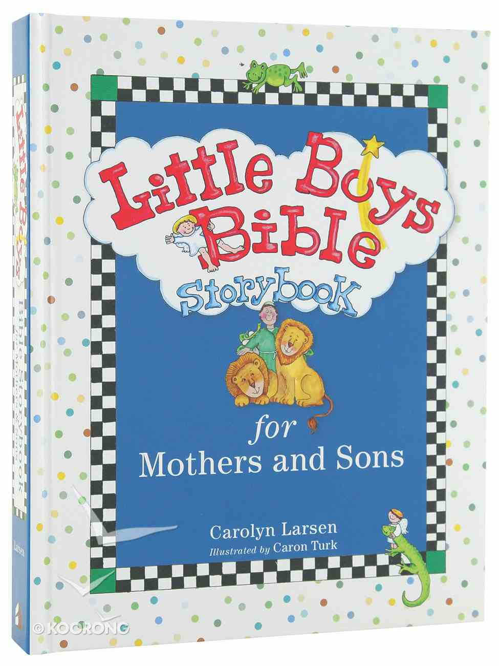 Bible Storybook For Mothers and Sons (Little Boys Series) Hardback