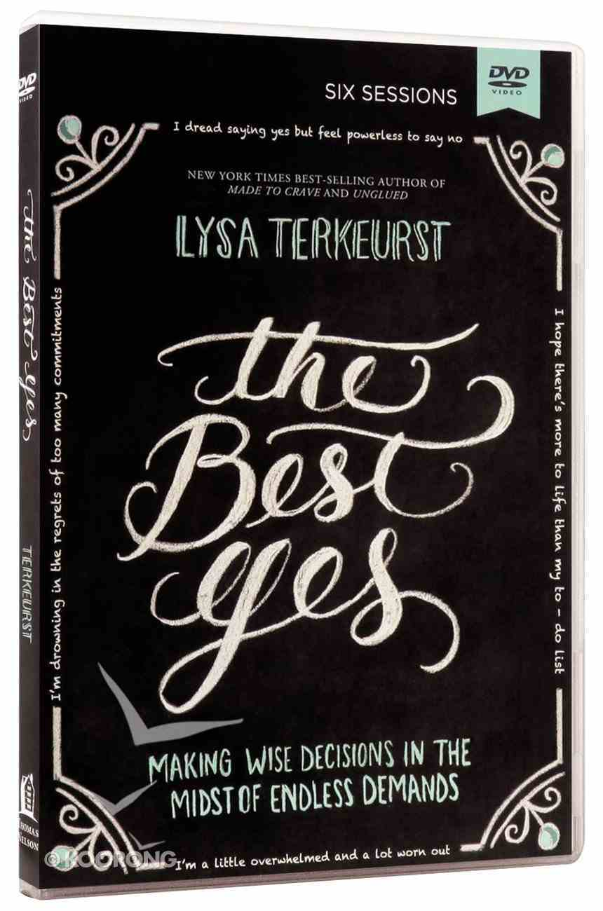 The Best Yes (Dvd Study) DVD