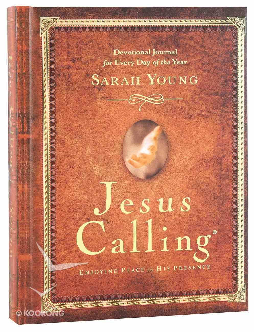 Jesus Calling Devotional Journal; 365 Day Devotional Hardback