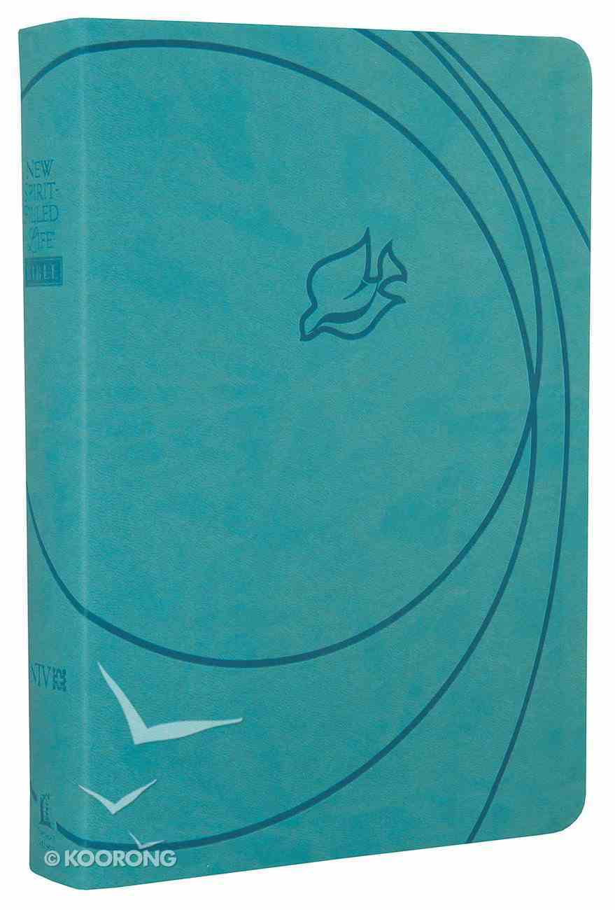 NIV New Spirit-Filled Life Bible Blue Dove Imitation Leather