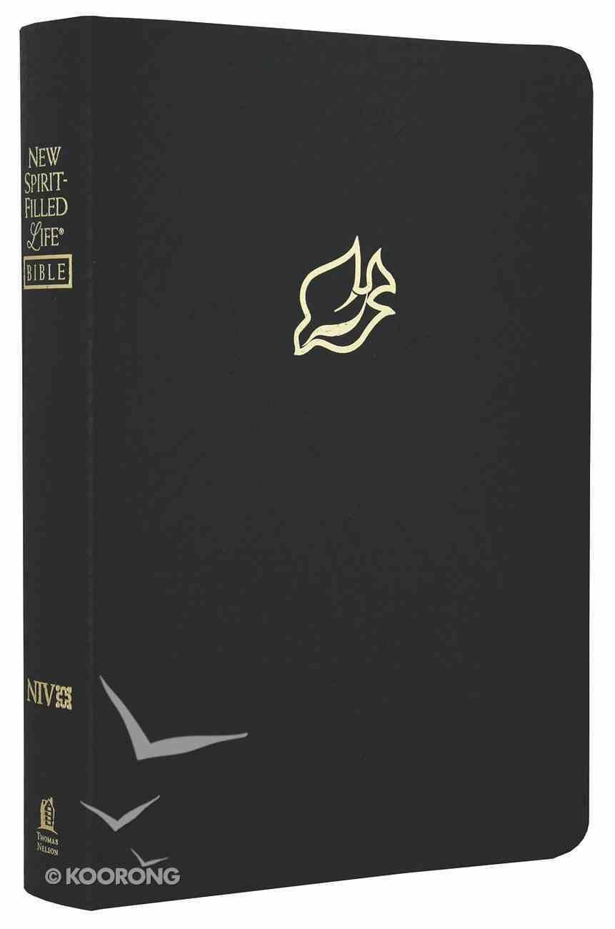 NIV New Spirit-Filled Life Bible Black Dove Bonded Leather
