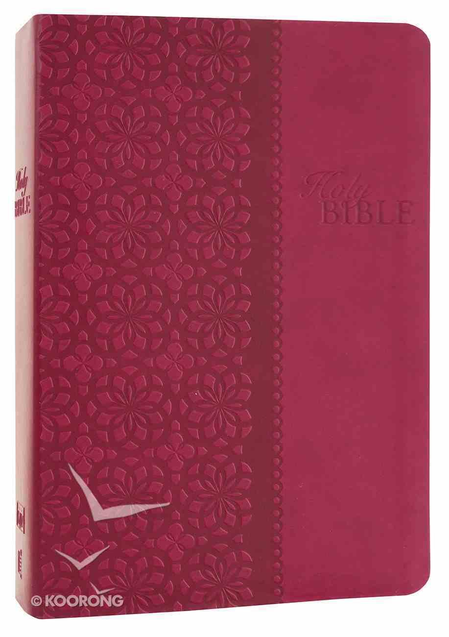 KJV Study Bible Cranberry (Second Edition) Premium Imitation Leather