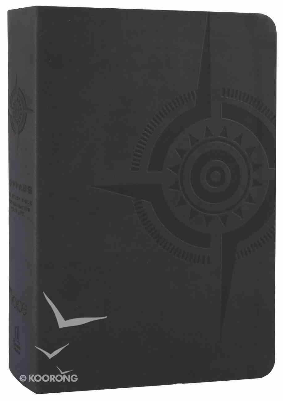 Voice Compass Study Bible Charcoal Premium Imitation Leather