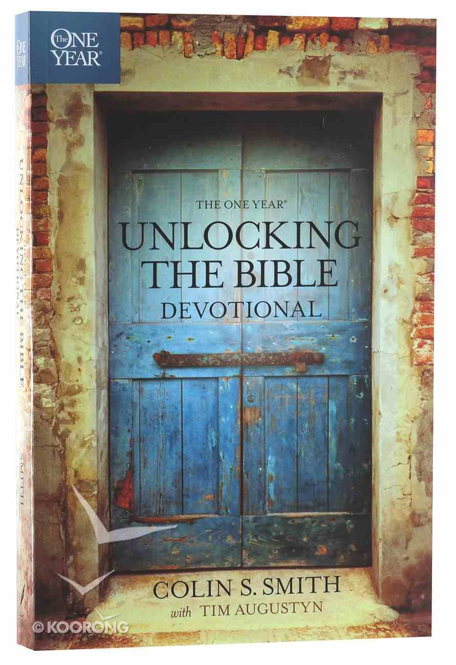 The One Year Unlocking the Bible Devotional Paperback