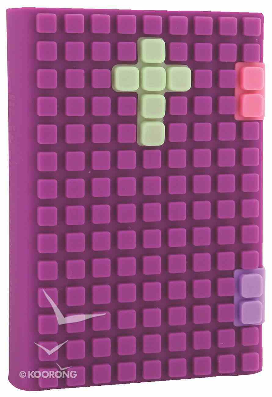 NLT Glipit Bible Silicone Purple (Black Letter Edition) Book Other
