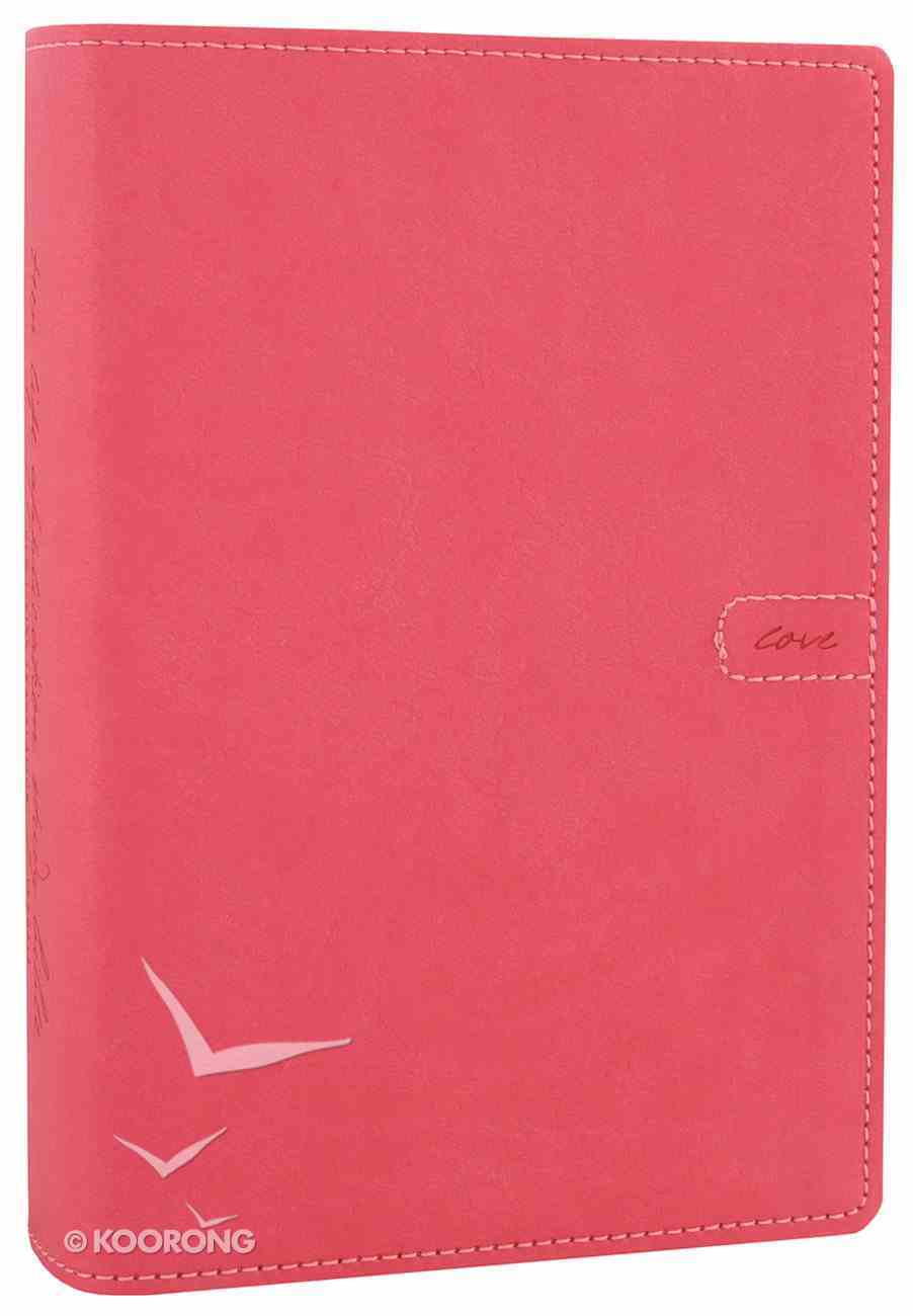 NLT Teen Life Application Study Bible Compact Pink Love (Black Letter Edition) Imitation Leather