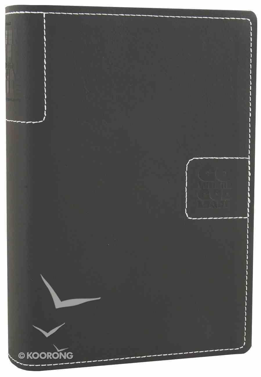NLT Teen Life Application Study Bible Compact Black Go Imitation Leather
