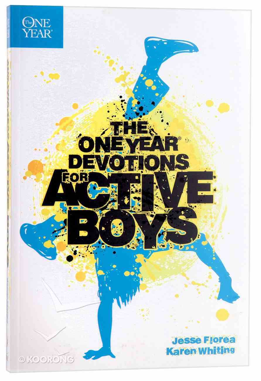 The One Year Devotions For Active Boys Paperback