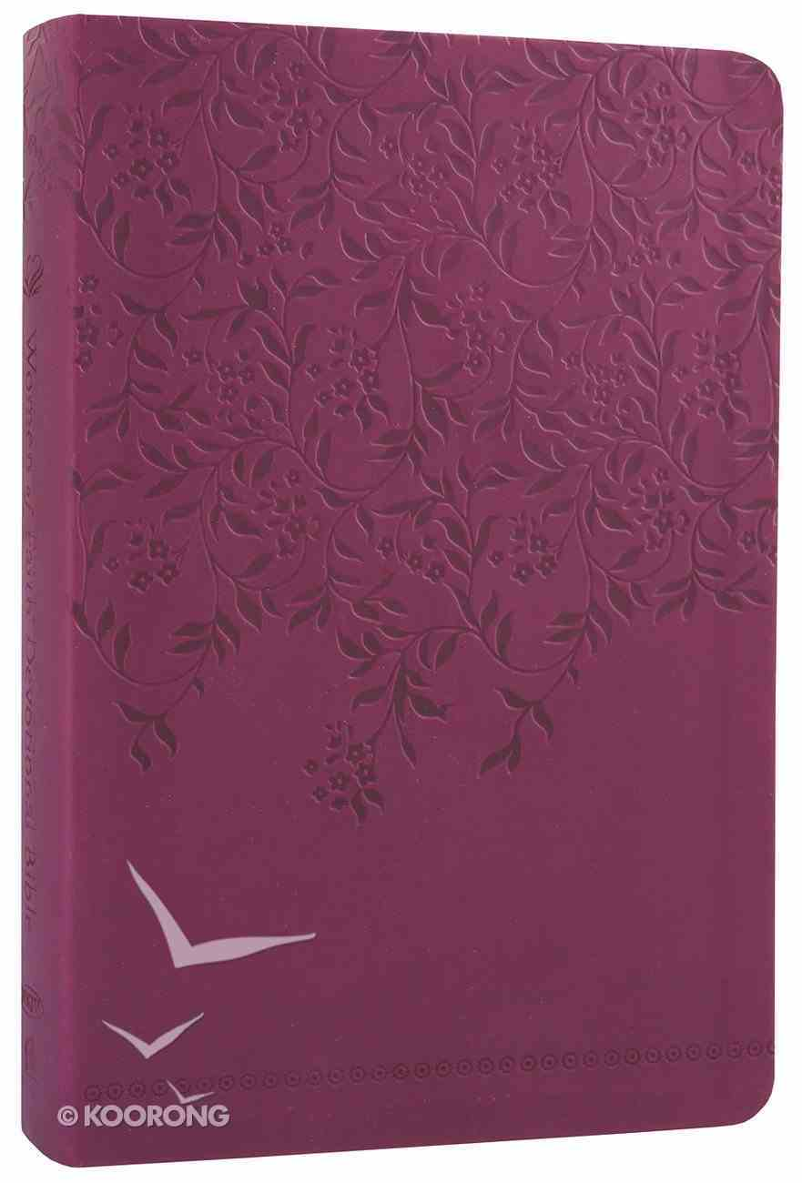 NKJV Women of Faith Devotional Bible Imitation Leather