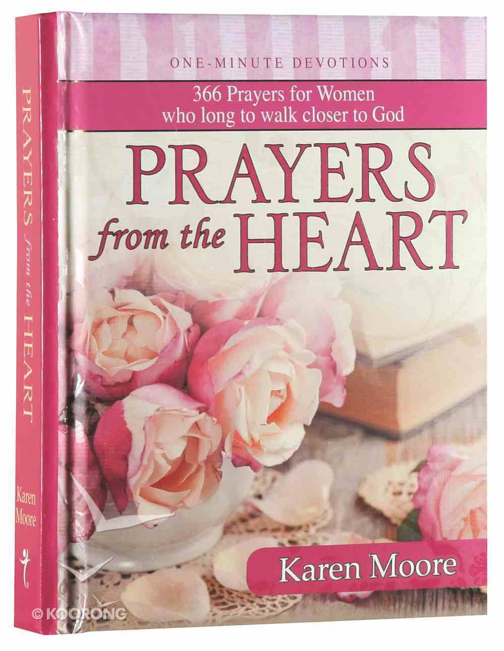 One Minute Devotions: Prayers From the Heart Hardback