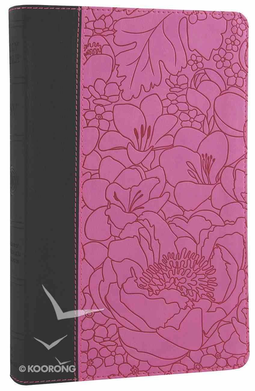 ESV Thinline Bible Ebony Berry Bouquet Trutone Imitation Leather