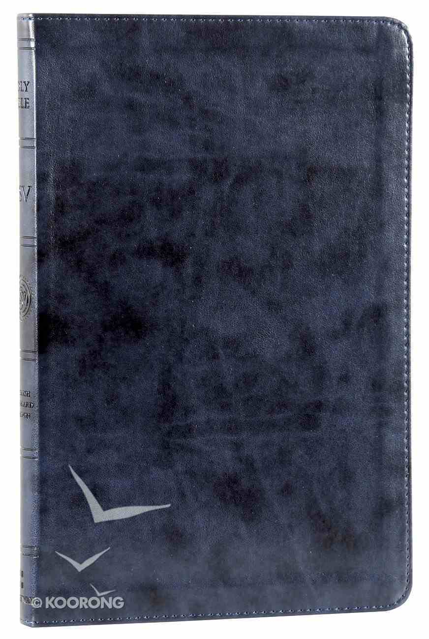 ESV Gift Bible Navy Imitation Leather