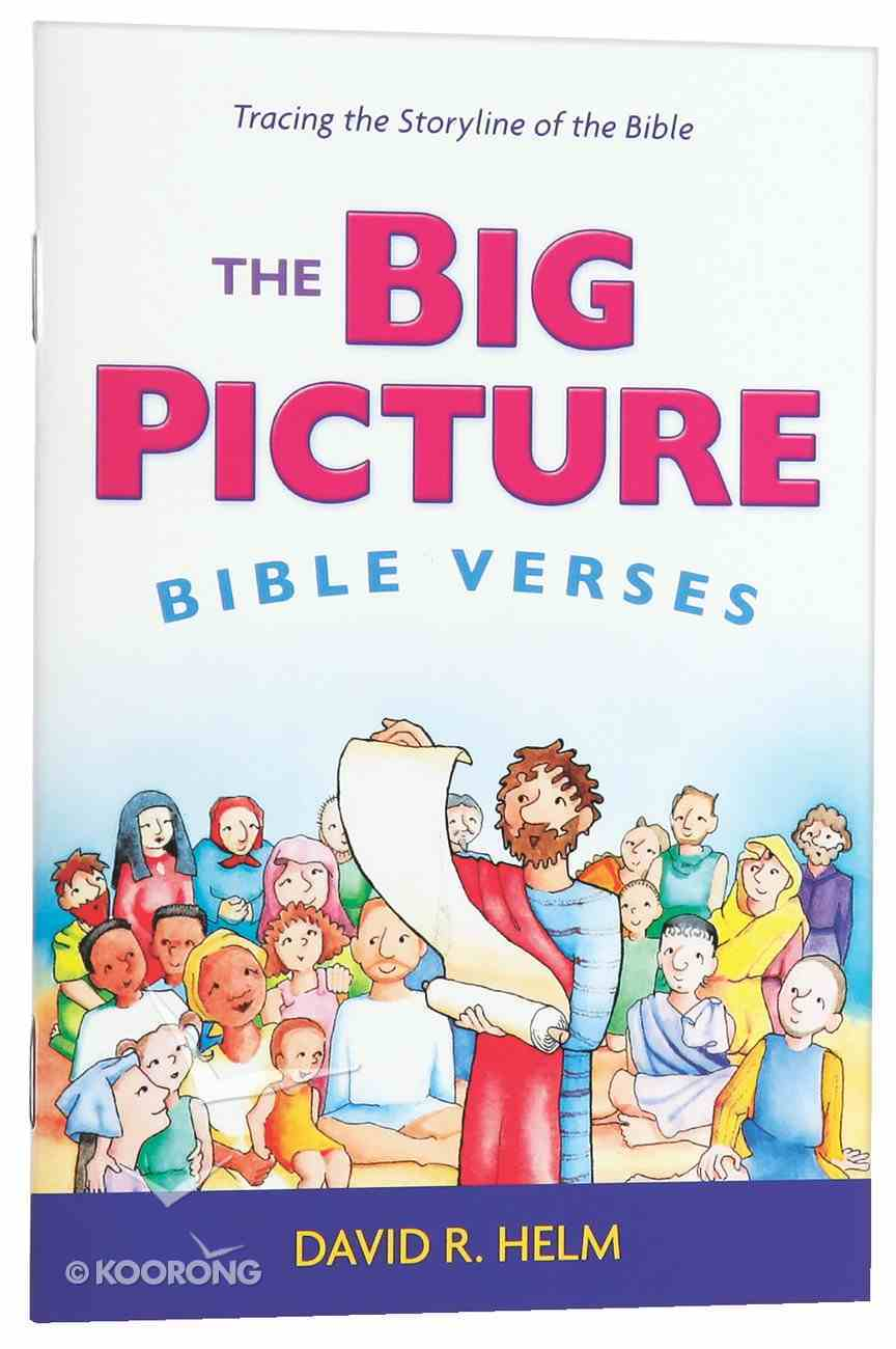 The Big Picture Bible Verses (From The Big Picture Story Bible) Pamphlet